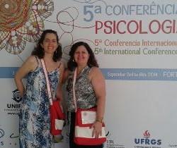 Acadêmicas da Universidade Ceuma participaram da V Conferência de Psicologia Comunitária