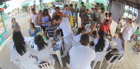 Universidade Ceuma promove ação social no Campus Deodoro
