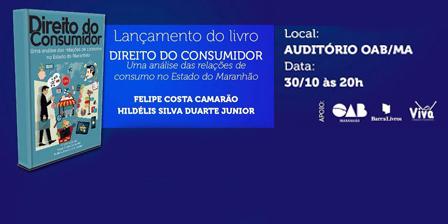 Docente da Universidade Ceuma lançará livro sobre Direito do Consumidor