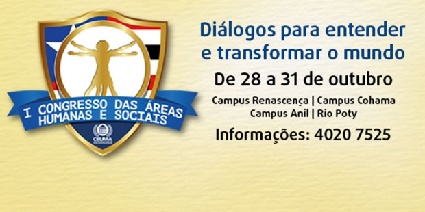 I Congresso das áreas de Humanas e Sociais da Universidade Ceuma