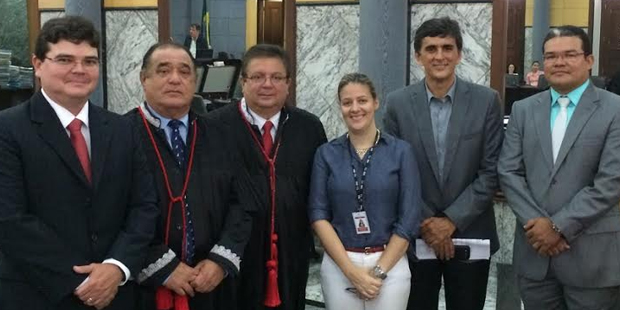 Universidade Ceuma visita TJMA para criação de resolução