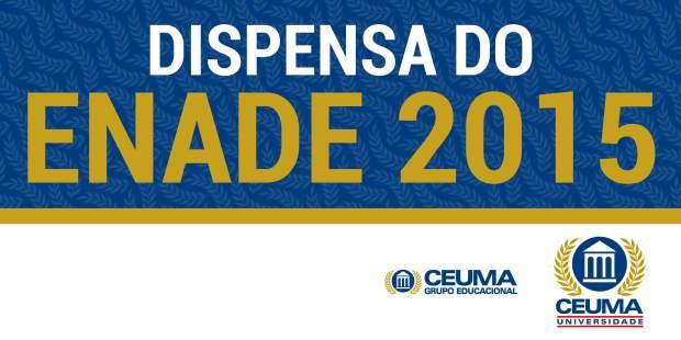 dispensa_enade_620x310 ceuma